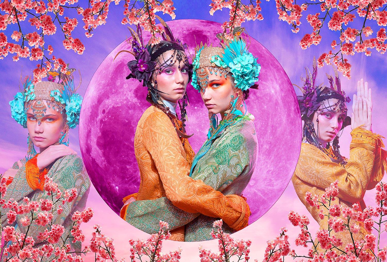 Japanese Goddesses- Commissioned
