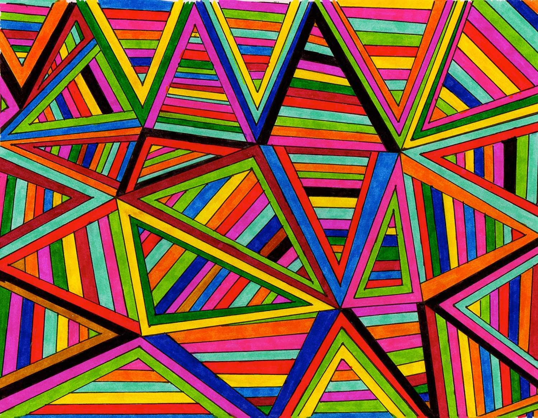 Making Art & Breaking Hearts Stripes