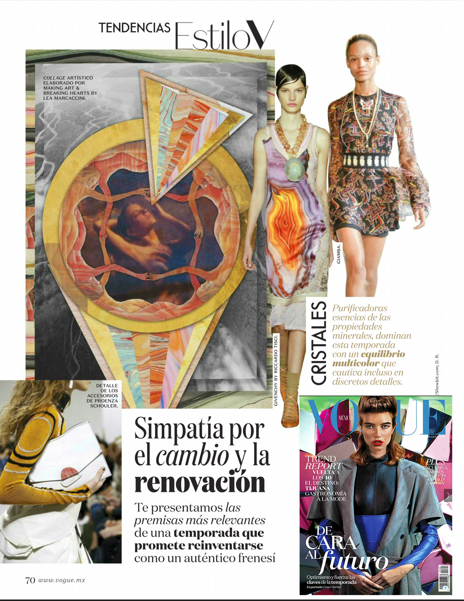 Vogue Mexico :: MAKING ART & BREAKING HEARTS ::